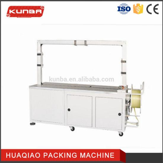 Automatic PLC Control PP Strap Carton Box Packing Machine Mh101c