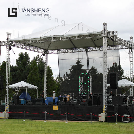Outdoor Portable Exhibition Concert Events Wedding Stage Lighting Show Speaker Aluminum Truss for LED Display
