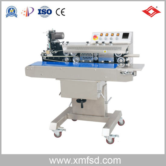 Ink Wheel Color Printing Continuous Sealing Machine Packing Machine
