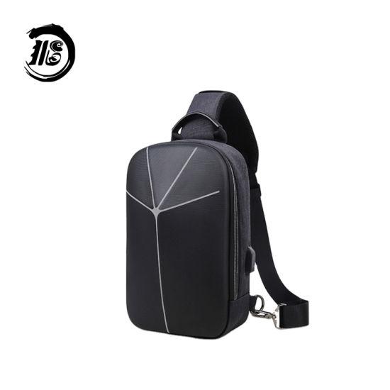 Hot Selling Business Backpack Anti-Theft Waterproof Bag Sling Bag Men EVA Shell Bag Storage Box
