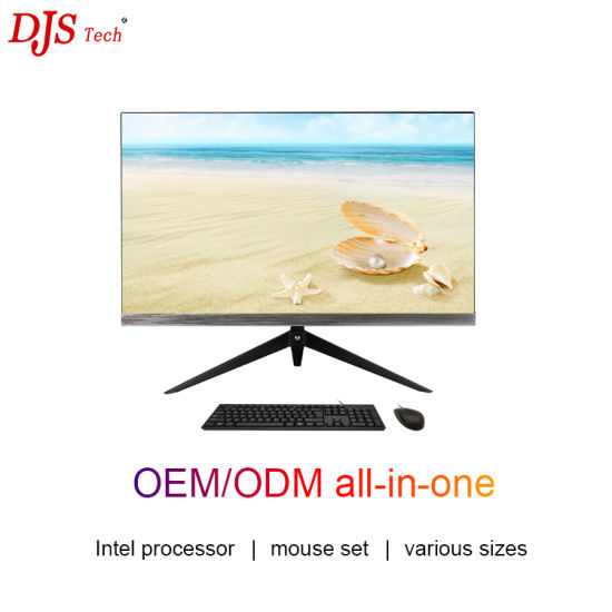 Stylish Backlight HD 21.5 / 23.8 / 27 Inch Intel Core I3 I5 I7 Desktop Computer Games Business Office Home All-in-One PC