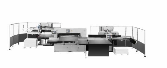 Full Automatic Intelligent Paper Cutting Line (115E) pictures & photos