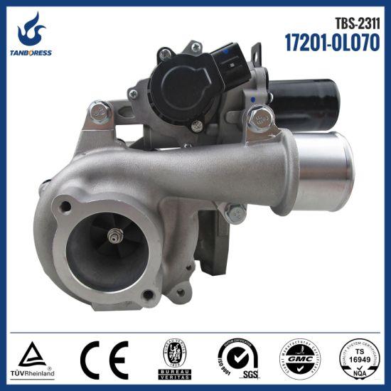 Vb31 Turbo Electrical Turbocharger 17201-0L070 Turbo for 2kd-Ftv Engine