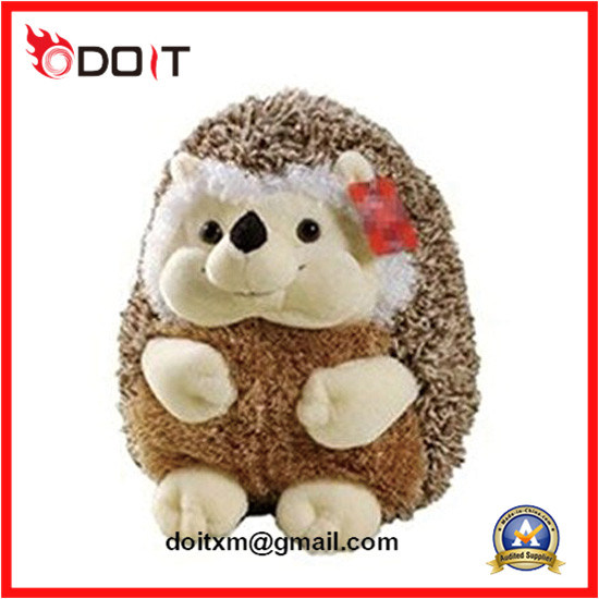 Lovely Kids Furry Soft Plush Animal Hedgehog for Girls