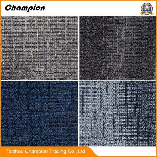 Best Price Decorative Loop Pile PVC Carpet Tiles, Nylon Office Contract PVC Carpet Tiles with PVC Backing
