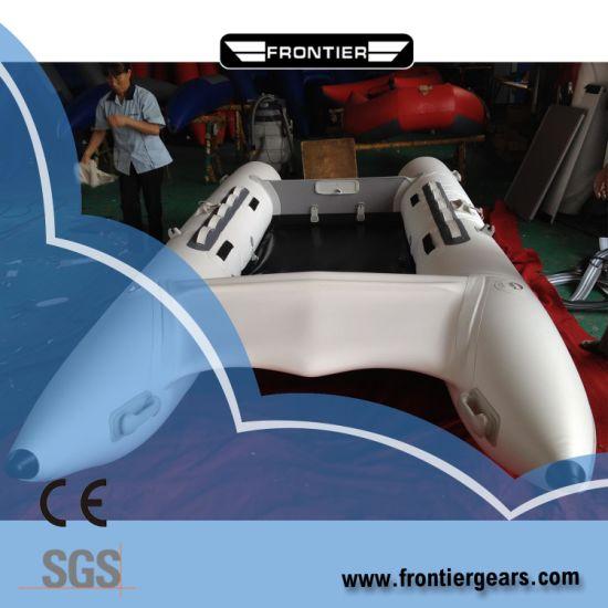 4.1 M High Speed PVC/Hypalon Inflatable Catamaran Boat Zapcat Boat
