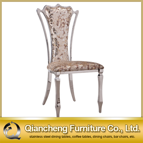 C115# Hot Selling Stainless Steel Luxury Dining Chair pictures & photos