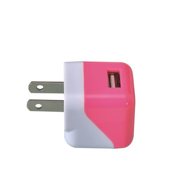 High Quality Folding Us Plug 5V 1A USB Travel Charger pictures & photos