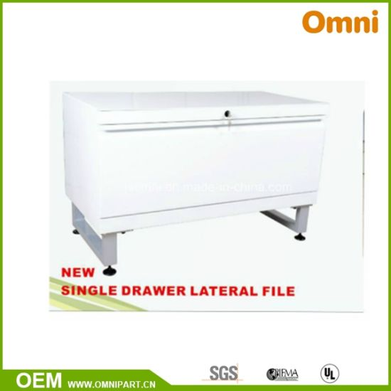 Superbe Office Furniture Single Drawer Lateral File Cabinet (OMX 02)
