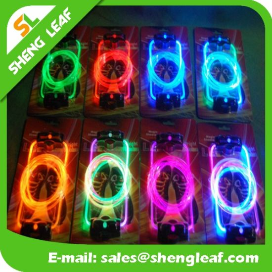LED Special Dancing Promotional Personality Shoelace (SLF-NS003)