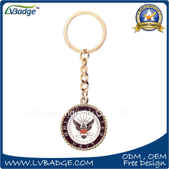 Promotional Metal Keychain Gift for Custom pictures & photos