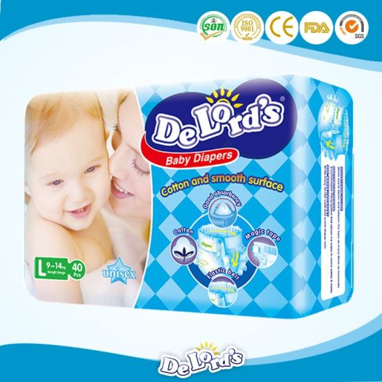 Baby Accessories Cotton Breathable Backsheet Baby Diaper pictures & photos