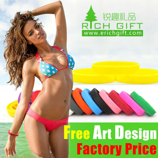 Wholesale Eco-Friendly Custom High Quality Silicone Bracelet for Sport Bracelet pictures & photos