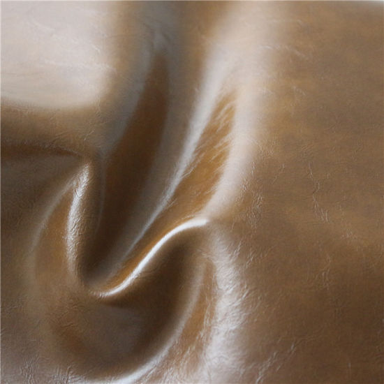 Eco-Friendly PVC Synthetic Leather for Furniture, Sofa (498#) pictures & photos
