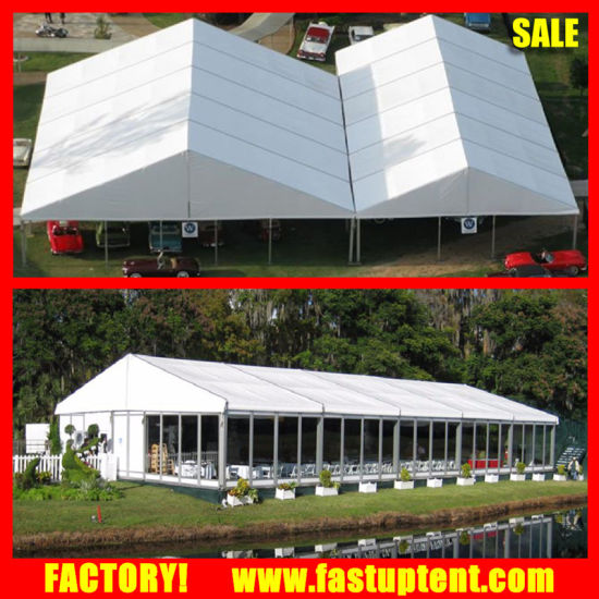 China Aluminium Frame Glass Wall Clear Span Marquee Event Tent ...
