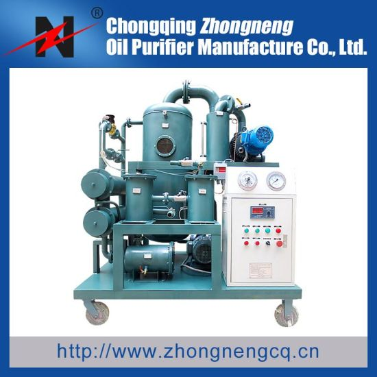 China Two Stage High Vacuum Transformer Oil Reconditioning Plant