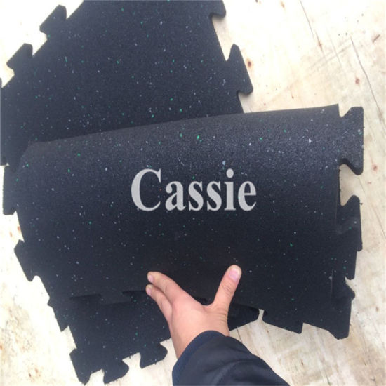 Gym Equipment Rubber Mat, Interlocking Gym Floors, Gym Flooring Mat pictures & photos