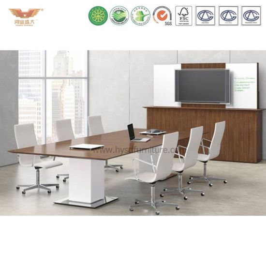 China Wooden Veneer Small Meeting Table For Conference Room China - Small conference room table
