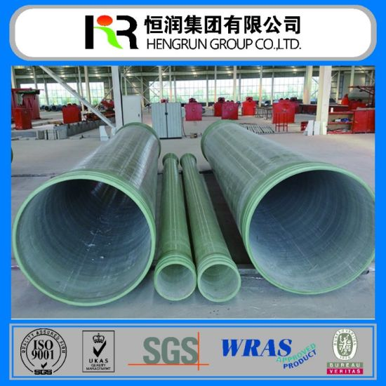 Best Quality Pultrusion FRP Fiberglass Round Pipe Fiberglass Round Pipe/FRP Pipe/GRP Pipe pictures & photos