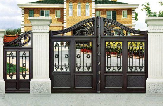 French Style Aluminium Small Garden Gate Entrance Door