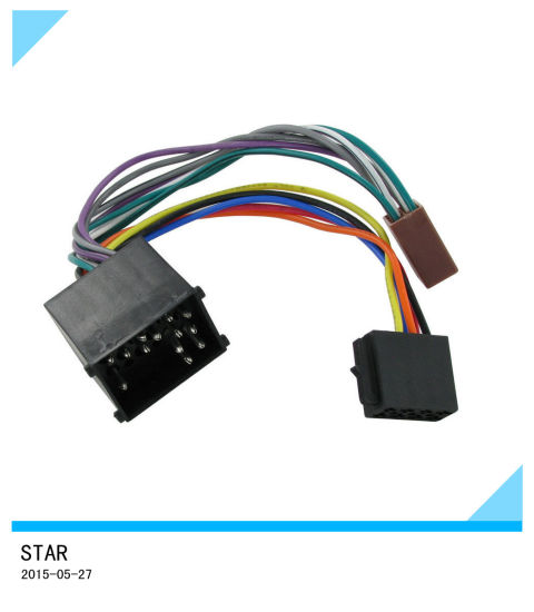 china bmw car auto stereo cd player wiring harness adaptor iso rh starconnect en made in china com