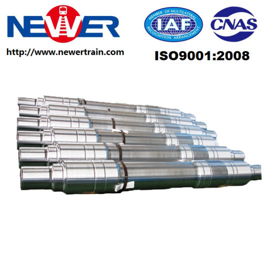 Railway Vehicle Axle for Wagon and Passenger Car