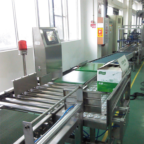 Economic Checkweigher for Beverage Box pictures & photos