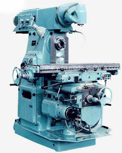 Swivel Head Universal Horizontal Milling Machine, Table 320X1600mm pictures & photos