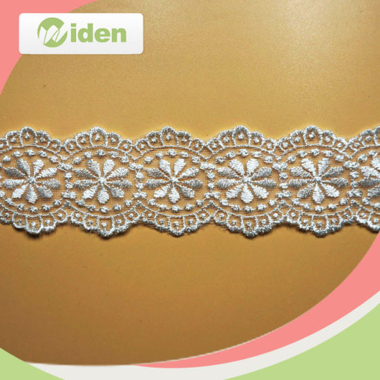 Advanced Machines Ready Made Net Embroidery Organza Lace pictures & photos