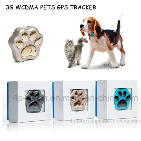 3G/WiFi Waterproof Mini Pet GPS Tracker with Collar V40 pictures & photos