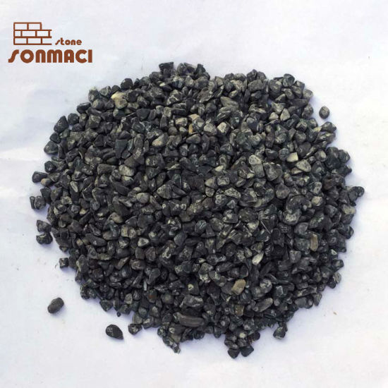 Decorative Black Tumbled Garden Small Pebbles Stone