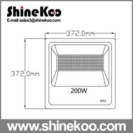 SMD2835 200W Aluminium LED Flood Lights pictures & photos