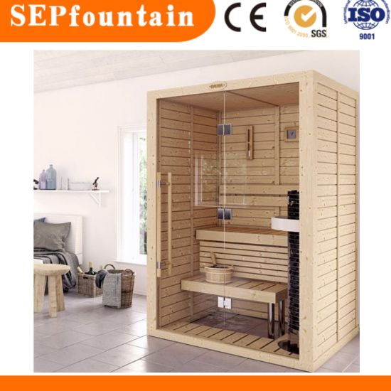 Mini Sauna Room For 1or 2 Person Use With Heater And Other Accessories