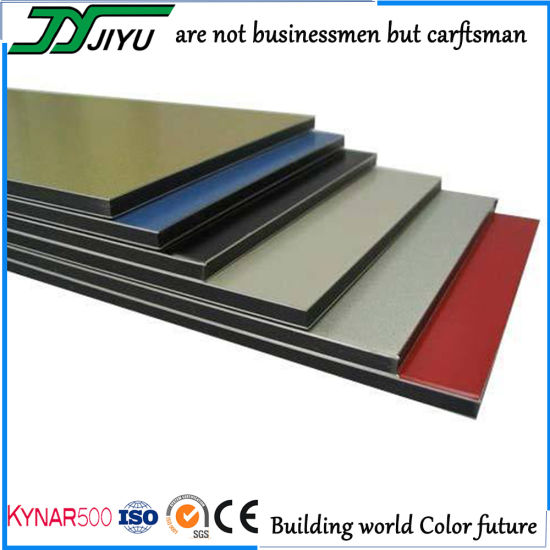 Exterior Wall Cladding PVDF Aluminum Composite Panel