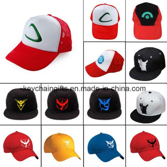 4bc67e2b9dea1 China Anime Go Ash Ketchum Embroidery Logo Baseball Hat - China Hat ...