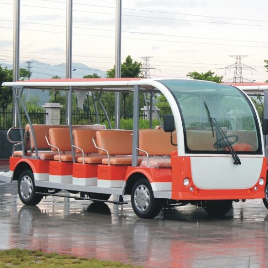 4 23 Seats Open Or Enclosed Electric Recreational Vehicle Dn Pictures