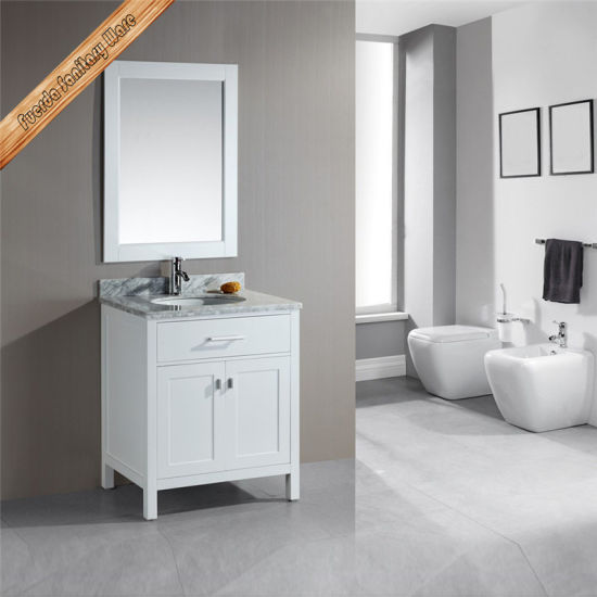 Fed 1043 30inch Single Sink Two Doors Free Standing Modern Bathroom Vanities