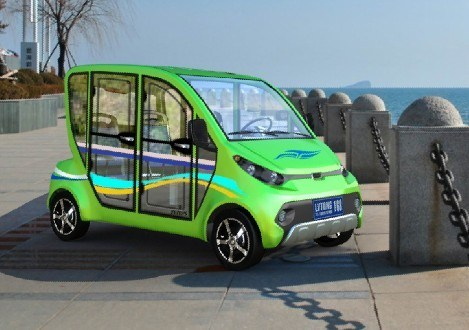 Four Wheel Electric Car for Family pictures & photos