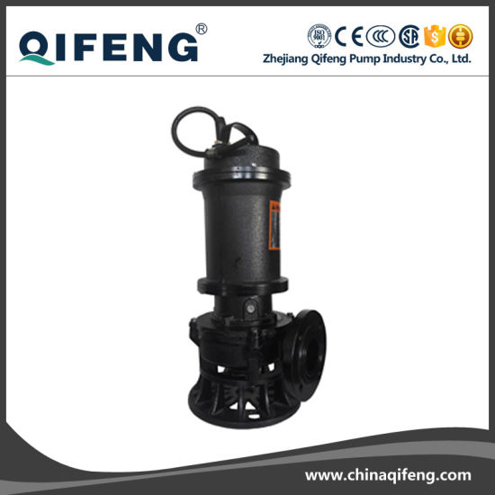 10HP Non-Clog Centrifugal Submersible Sewage Water Pump (CE Approved) pictures & photos