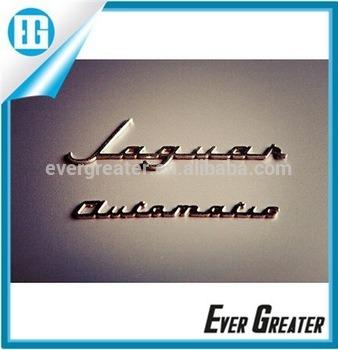 Custom Chrome Lettering Emblems 3m Auto Letters Chrome