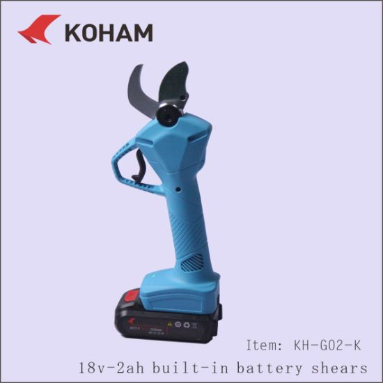 Koham Kh-Hi Pruner 30mm Cut Battery Electric Pruner pictures & photos