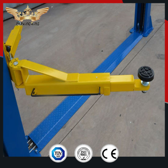 China 2 Cars Car Lift Factory Price 9000lbs Capacity 1850mm Height
