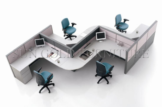 office workstation desks. Modern Vari Desk Design Partition Commercial Office Wave Workstation (SZ-WS542) Desks