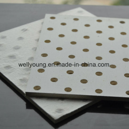 Sound Deadening Perforated MGO Ceiling Tiles pictures & photos