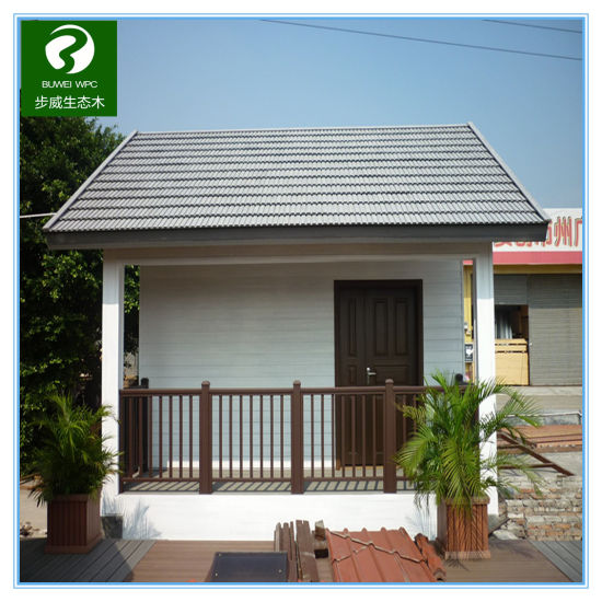 China Manufacturer Exterior Extrusion Wpc Wall Cladding Panel