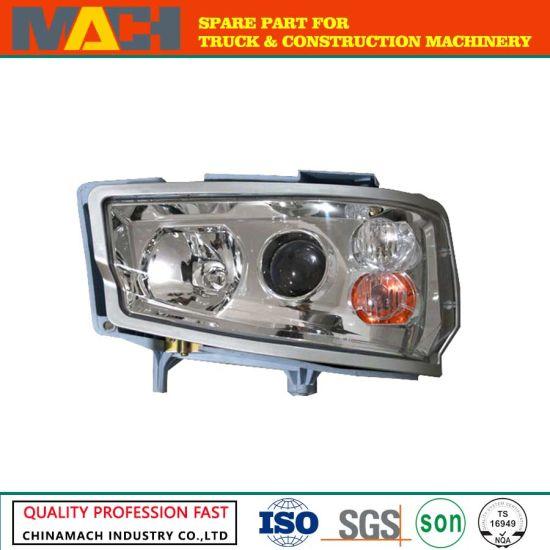 Wg9716720002 Crane Cab Lights Front Lamp Assy (RHD) for Trucks