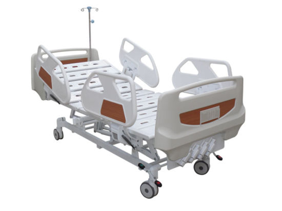 HS-Bm003 Five Function Manual Crank Luxuious Hospital Bed
