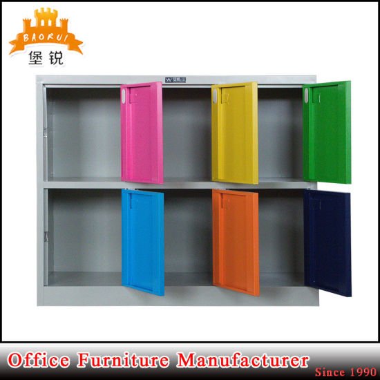 Kd Metal Furniture Cabinet Steel 6 Door Kids Locker pictures & photos
