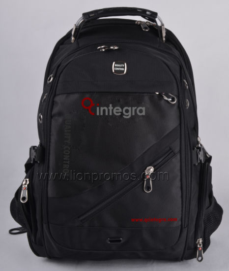 Custom Logo Promotional Laptop Backpack pictures & photos