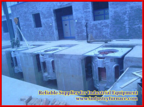 500kgs Electirc Furnace for Casting Iron or Different Alloy